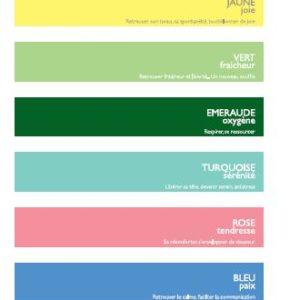 Languettes couleurs