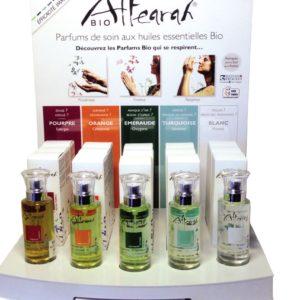 offre presentoir parfums de soin