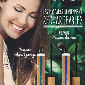 155252 POSTER A4 MASCARA RECHARGEABLE FR