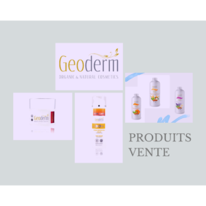Geoderm Produits vente